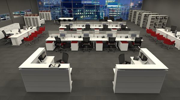 types of office workstations sydney